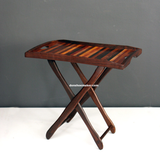 Folding table by Don S. Shoemaker (1960's)