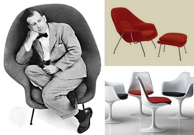 Eero Saarinen´s Womb Chair (1948) and Pedestal Collection (1956) - KnollStudio