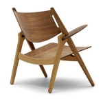 Sawhorse Easy Chair (CH28) by Hans J. Wegner (1952)
