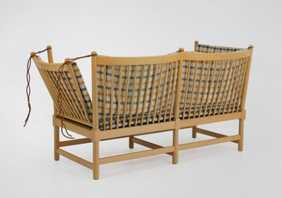 Spokeback Sofa (1789) by Børge Mogensen (1945)