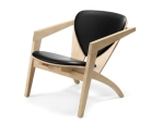 GE 290A High Back Easy Chair by Hans J. Wegner (1953)