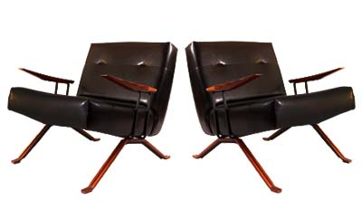 Percival Lafer Ocassional Chairs (1958)