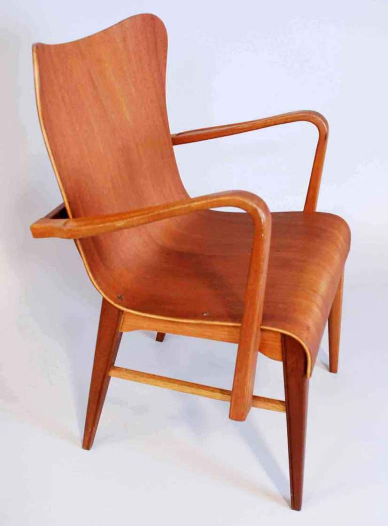 Armchair by carl axel acking 1950 s don shoemaker for Armchair builder