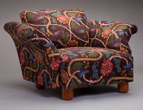 Armchair with Mirakel by Josef Frank (1934)