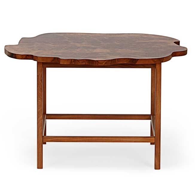 Coffee Table 1057 Elmroot designed by Josef Frank (1946)