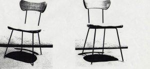 Chair for El Eco by Mathias Goeritz and Daniel Mont (1952-1953)