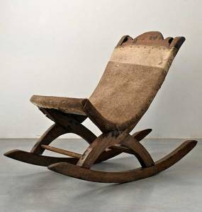 Butaque Rocking Chair from Yucatán