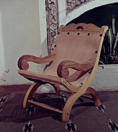 A Butaca Armchair from the Artesanos de México catalog (1967)