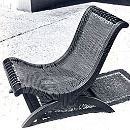 Armless Butaque Chair by Clara Porset (1960´s)