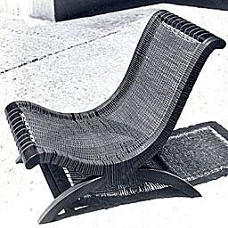 Armless Butaque Chair by Clara Porset (1960´s)