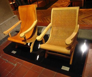 Pair of Miguelito Armchairs designed by Clara Porset (ca. 1947 + 1950's)