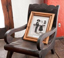 Butaque Chair designed by Manuel Parra