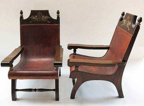 Pair of Butaca Chairs by Alejandro Rangel Hidalgo (1970's)