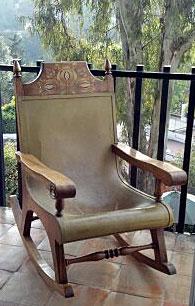 Butaca Rocking Chair by Alejandro Rangel Hidalgo (1960's)