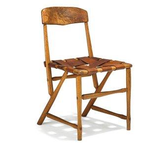 Wharton Esherick Hammer Handle Chair (late 1930's)