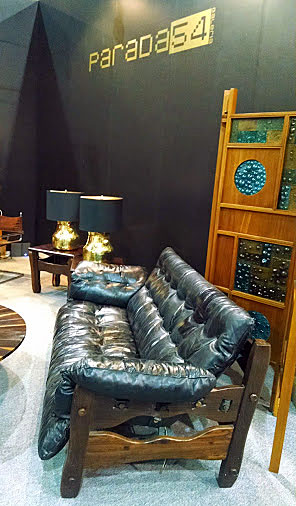 Don Shoemaker´s iconic furniture as seen at Zona MACO-Salón del Anticuario 2014