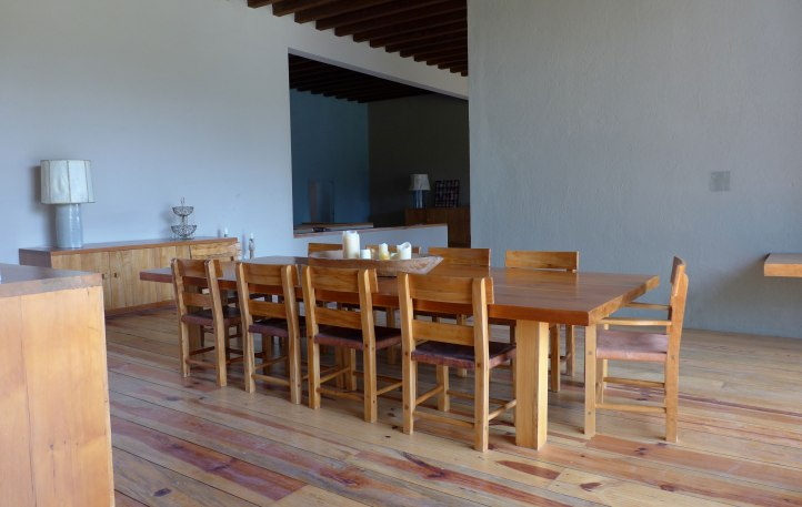Casa Pedregal refurbished dining room (2015)