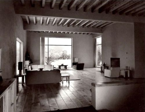 Living room Casa Prieto (1951)