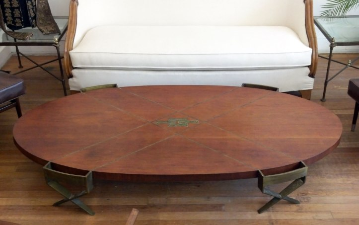 Frank Kyle Coffee Table with Pepe Mendoza hardware