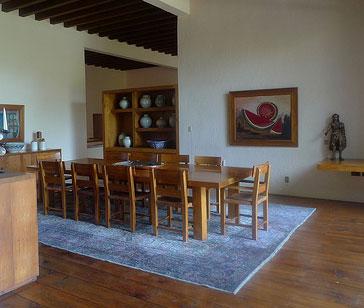 Casa Prieto dining room (2009)