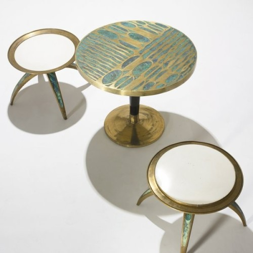 Set of occassional tables by Pepe Mendoza (ca. 1960's)