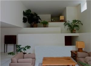 Living room area Casa Serrano by Andrés Casillas (1999)